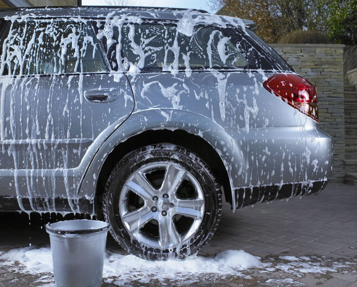 Wash Your Car With Soap